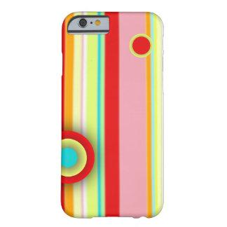 キャンデー色のしぶき BARELY THERE iPhone 6 ケース