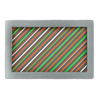 キャンデー色の長方形のバックル 長方形ベルトバックル