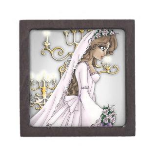 キャンドルライトの花嫁のギフト用の箱1 ギフトボックス