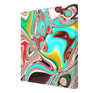 キャンバスで印刷される神経の抽象的概念 キャンバスプリント