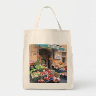 キャンバスのトート--イタリアンな市場 トートバッグ