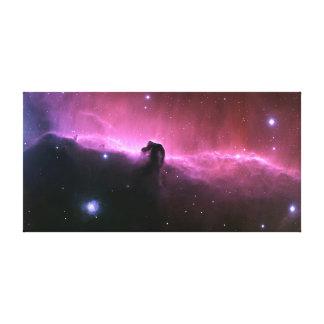 """キャンバスのハッブルの望遠鏡オリオン""""HORSEHEAD"""" キャンバスプリント"""