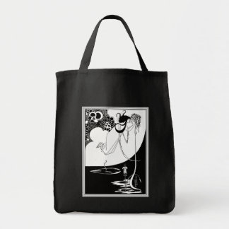 キャンバスのバッグ: Beardsley -クライマックス トートバッグ