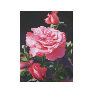 キャンバスのバラ油の絵画 キャンバスプリント