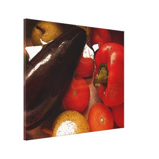 キャンバスのプリント- Vegieのフルーツ キャンバスプリント