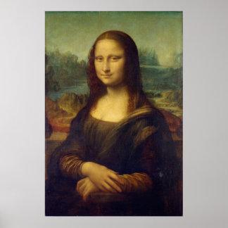 キャンバスのモナ・リザの絵画のプリントの実寸 ポスター