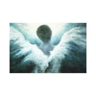 キャンバスの上向きの天使の芸術のプリント キャンバスプリント