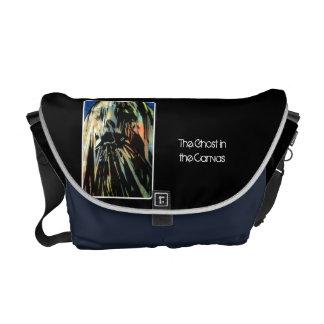 「キャンバスの幽霊」のメッセンジャーバッグ クーリエバッグ