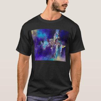 キャンバスの抽象美術の仕事を絵を描く変態 Tシャツ