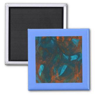 キャンバスの磁石の艶をかけられた抽象的なアクリル マグネット