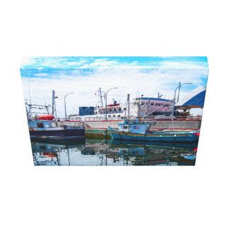キャンバスの芸術-ボート キャンバスプリント