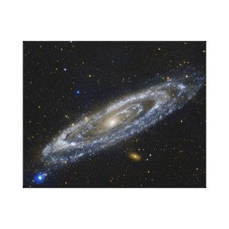 キャンバスプリントの一等級の銀河 キャンバスプリント