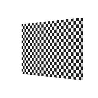 キャンバスプリントの黒及び白 キャンバスプリント