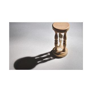 キャンバス: Sandglassのカウント キャンバスプリント