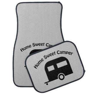 キャンピングカーの家の甘いキャンピングカーのカーマットセット カーマット