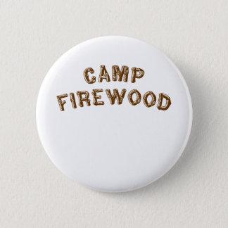 キャンプのまき 缶バッジ