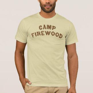 キャンプのまき Tシャツ