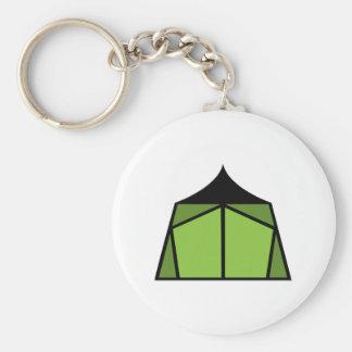 キャンプのテント キーホルダー