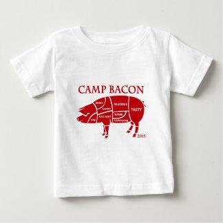 キャンプのベーコン2015年 ベビーTシャツ