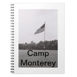 キャンプのモンテレーのノート ノートブック
