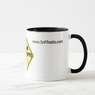 キャンプの放射性コーヒー・マグ マグカップ