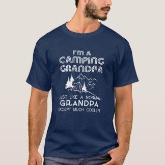 キャンプの祖父 Tシャツ