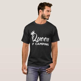 キャンプの自然のアウトドアの冒険のTシャツの女王 Tシャツ