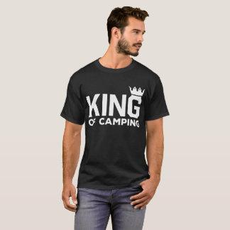 キャンプの自然のアウトドアの冒険のTシャツの王 Tシャツ