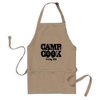 キャンプの調理師のフォーク、WAのエプロン スタンダードエプロン