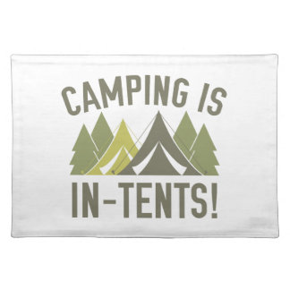 キャンプは意思です! ランチョンマット