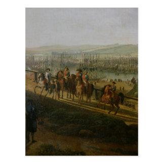 キャンプをで訪問しているNapoleon Bonaparte ポストカード