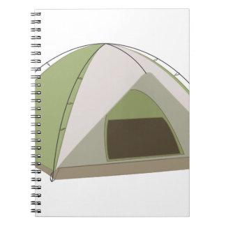 キャンプテント ノートブック