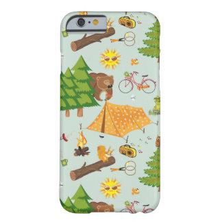 キャンプパターン BARELY THERE iPhone 6 ケース