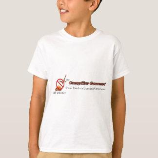 キャンプファイヤーのグルメ Tシャツ