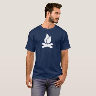 キャンプファイヤーのTシャツ Tシャツ