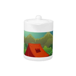 キャンプ地面