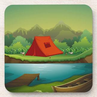 キャンプ場 コースター