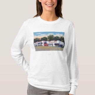 キャンプWalla Wallaの外観 Tシャツ