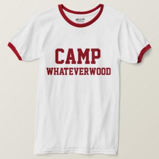 キャンプWhateverwood Tシャツ