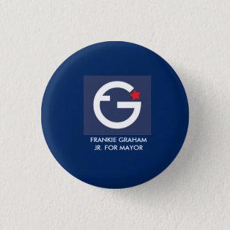 キャンペーンボタン 3.2CM 丸型バッジ