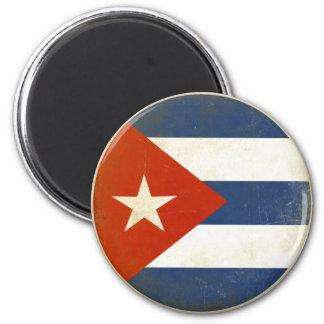 キューバからの動揺してなヴィンテージの旗が付いている磁石 マグネット