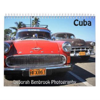 キューバのカレンダー カレンダー
