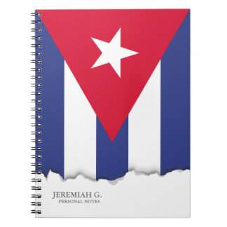 キューバのクラシックな旗 ノートブック