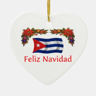 キューバのクリスマス セラミックオーナメント