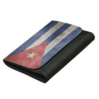 キューバのグランジな旗 ウォレット