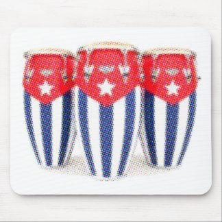 キューバのコンガ マウスパッド