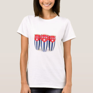 キューバのコンガ Tシャツ
