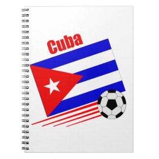 キューバのサッカーチーム ノートブック