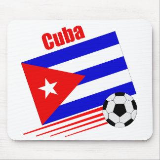 キューバのサッカーチーム マウスパッド