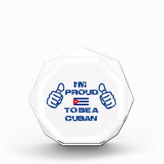 キューバのデザイン 表彰盾